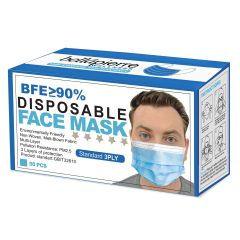 Disposable 3-ply Face Mask 50pcs