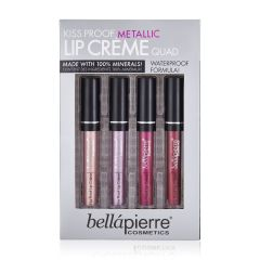 Kiss Proof Metallic Lip Crème Quad
