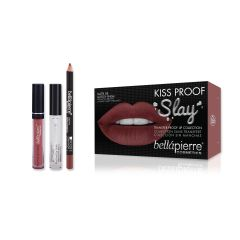 Kiss Proof Slay Kit - Muddy Rose