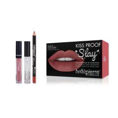 Kiss Proof Slay Kit - Nude