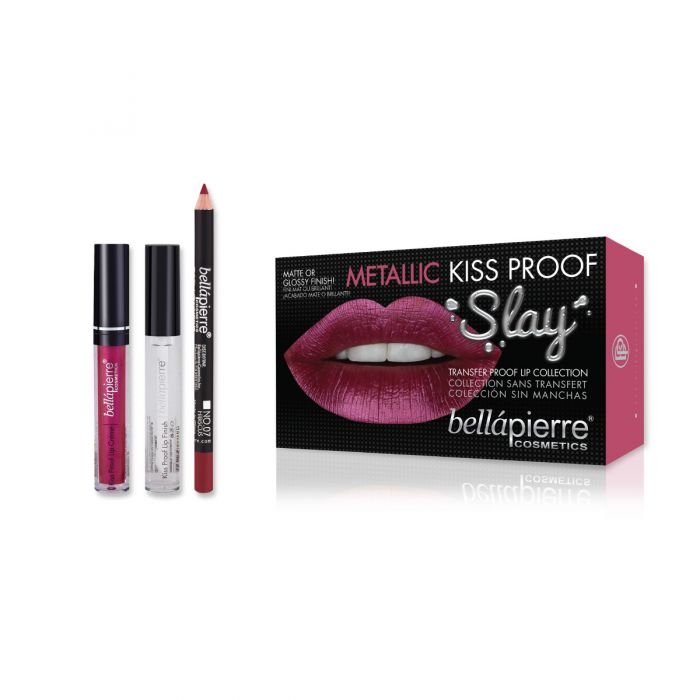 Kiss Proof Slay Kit - Rosy Pink