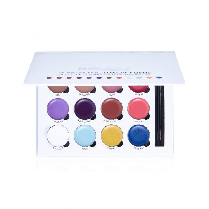 12 Color Pro Lip Palette by Bellapierre #16