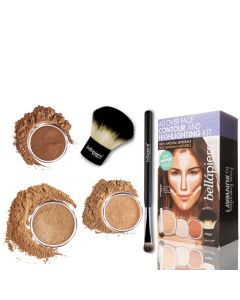 All Over Face Contour and Highlighting Kit - Dark