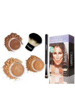 All Over Face Contour and Highlighting Kit - Deep