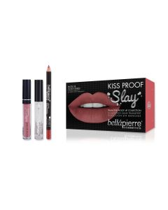 Kiss Proof Slay Kit - Nude