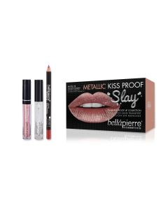 Kiss Proof Metallic Slay Kit - Miami Glam